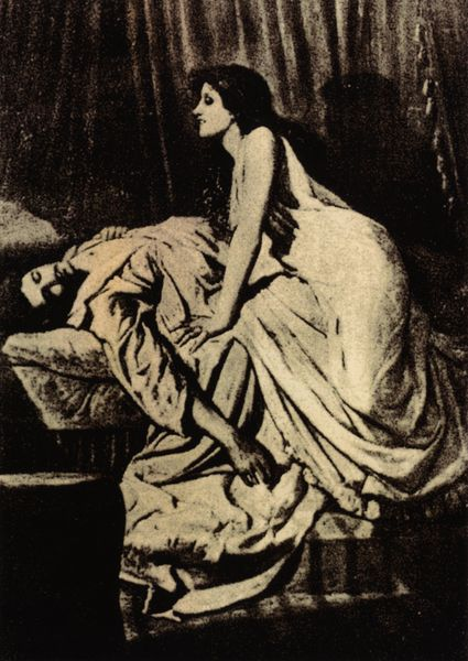 "Philip Burne-Jones' ""Le Vampire,"" (1897)"